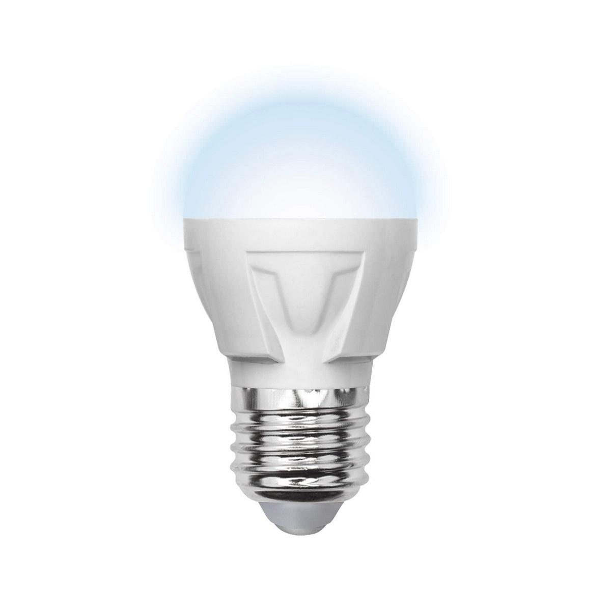 цена на Лампа светодиодная (09456) E27 6W 4500K матовая LED-G45-6W/NW/E27/FR/S
