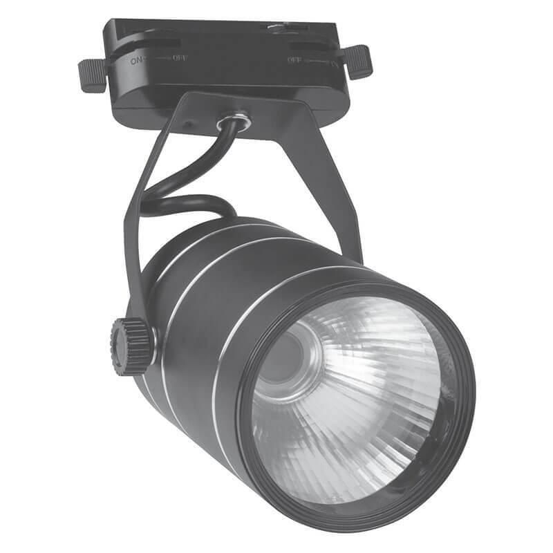 Светильник Volpe ULB-Q251 9W/NW/K Black ULB-Q250 (для однофазного шинопровода) фото