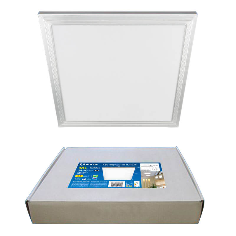 Светильник Volpe ULP-Q107 3030-18W/4000K WHITE ULP-Q107 светильник светодиодный встраиваемый uniel effective ulp 3030 18w nw white