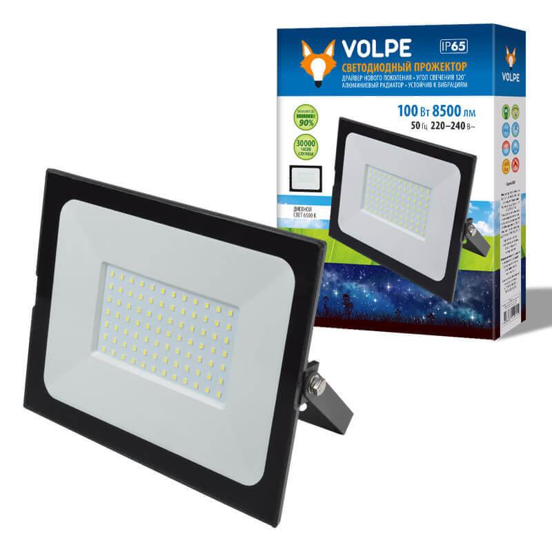 Прожектор Volpe ULF-Q513 100W/6500K IP65 220-240В Black