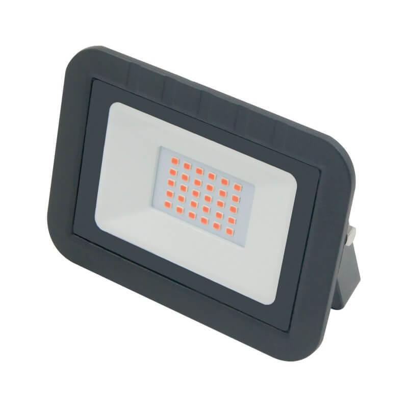 Прожектор светодиодный (UL-00002560) Volpe 30W ULF-Q511 30W/Red IP65 220-240В Black