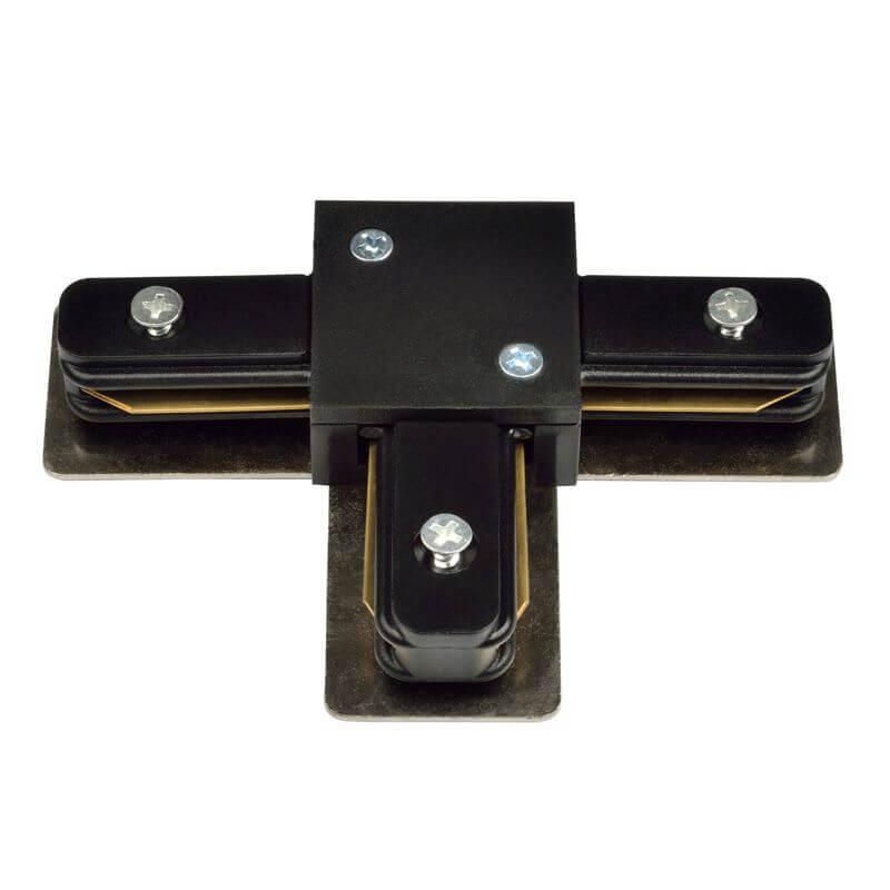 Коннектор Volpe UBX-Q121 K31 Black 1 Polybag UBX-Q121 (для однофазного шинопровода)