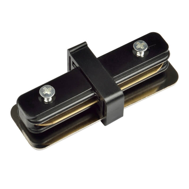 Коннектор Volpe UBX-Q121 K11 Black 1 Polybag UBX-Q121 (для однофазного шинопровода)