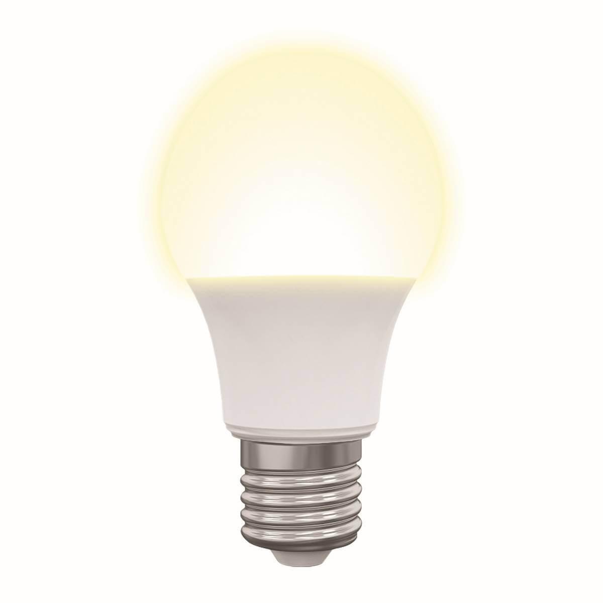 Лампочка Volpe LED-A60-7W/3000K/E27/FR/NR Norma эра f led a60 e27 7w 220v 2700k