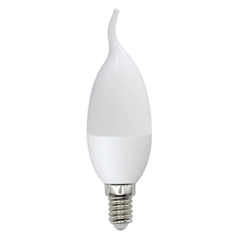 Лампа светодиодная (UL-00003801) E14 7W 3000K матовая LED-CW37-7W/WW/E14/FR/NR