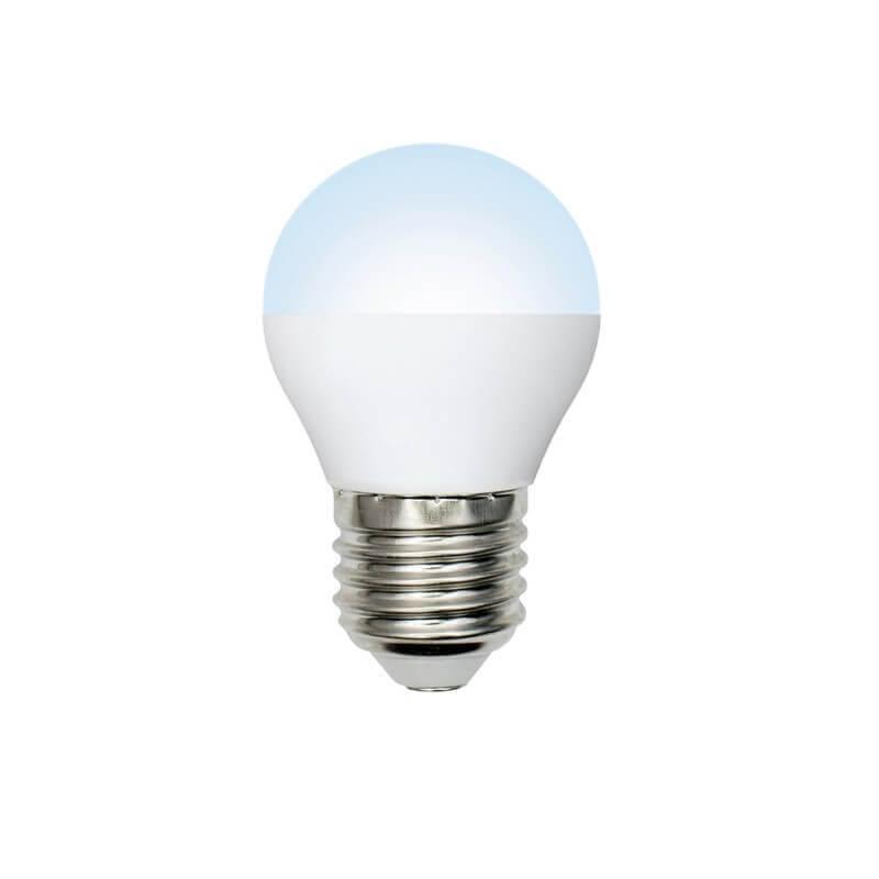 Лампа светодиодная (UL-00003822) E27 7W 4000K матовая LED-G45-7W/NW/E27/FR/NR