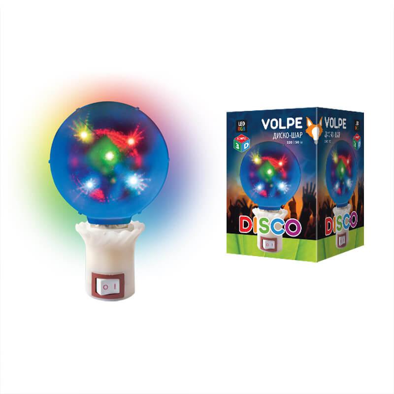 Светильник Volpe ULI-Q309 1,5W/RGB Disko