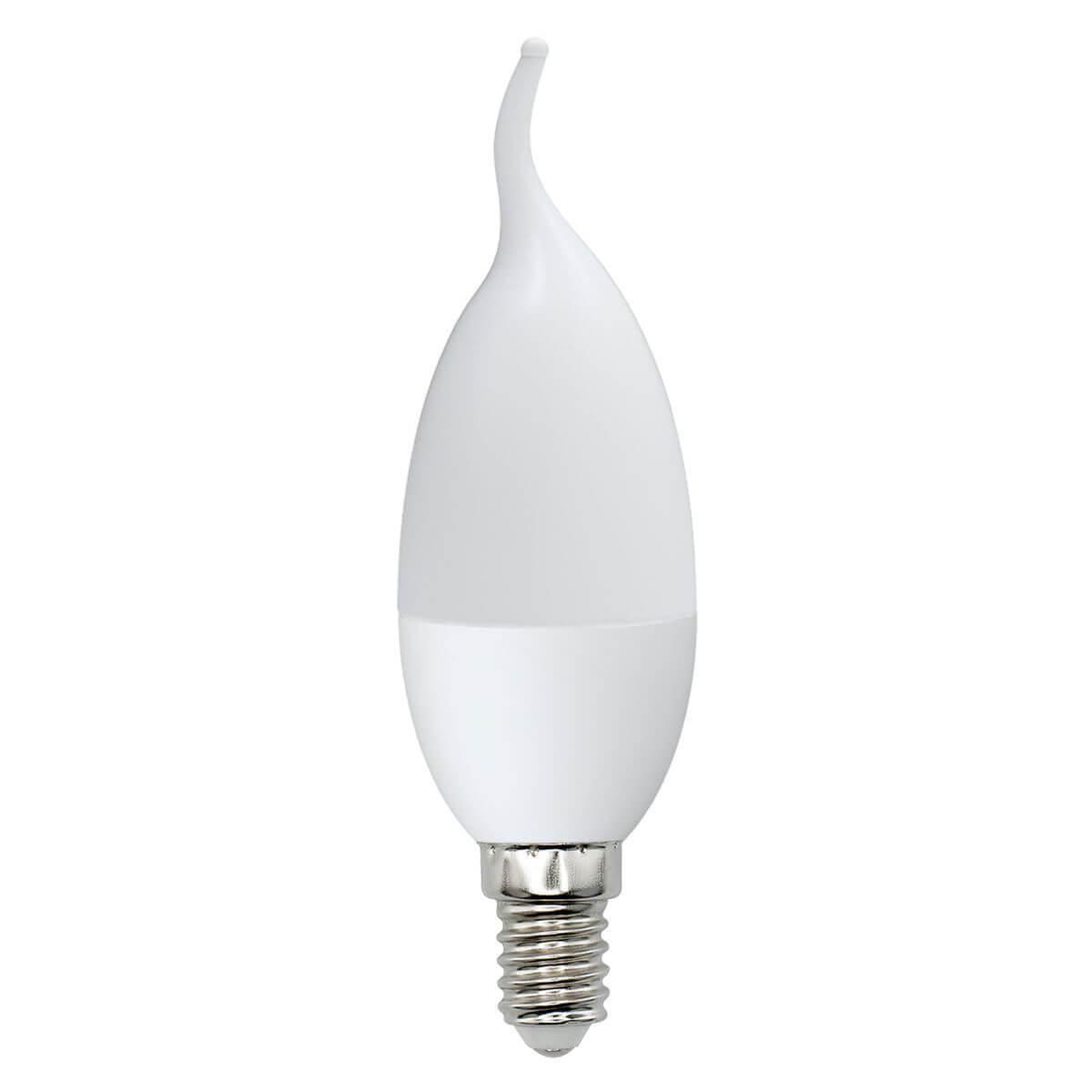 Лампа светодиодная (UL-00000308) E14 6W 3000K матовая LED-CW37-6W/WW/E14/FR/O лампа светодиодная ul 00001554 r7s 6w 3000k прозрачная led j78 6w ww r7s cl plz06wh