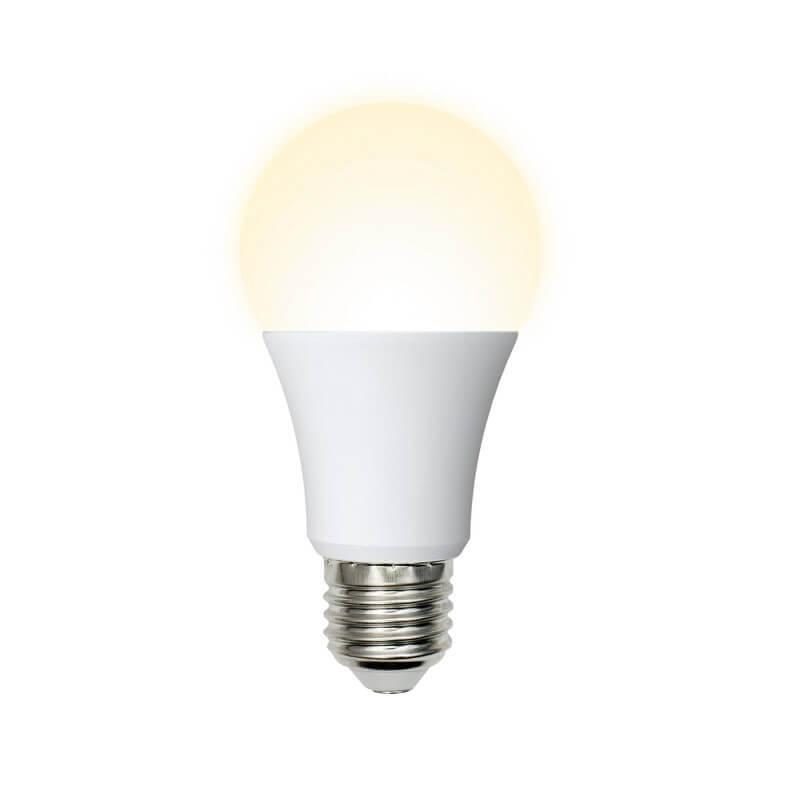 Лампа светодиодная (UL-00004027) E27 16W 3000K матовая LED-A60-16W/WW/E27/FR/NR