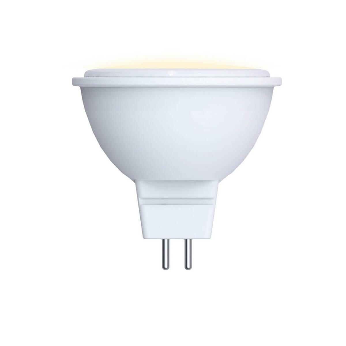 Лампа светодиодная (09942) GU5.3 5W 3000K JCDR матовая LED-JCDR-5W/WW/GU5.3/O