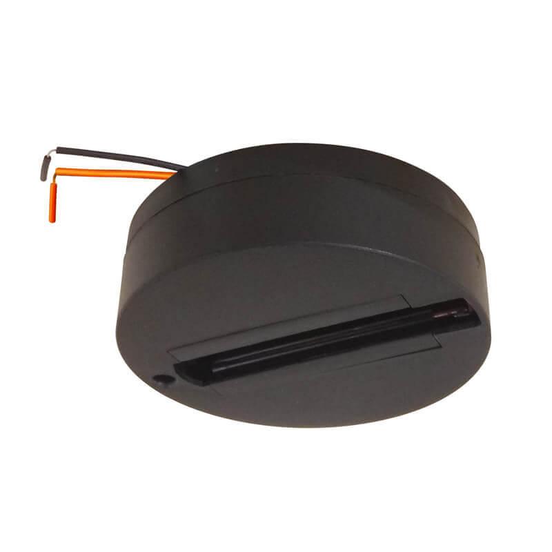Крепление Volpe UBX-Q121 K81 Black 1 Polybag UBX-Q121 (для однофазного шинопровода) ввод питания для шинопровода ul 00001277 volpe ubx q121 k01 black 1 polybag