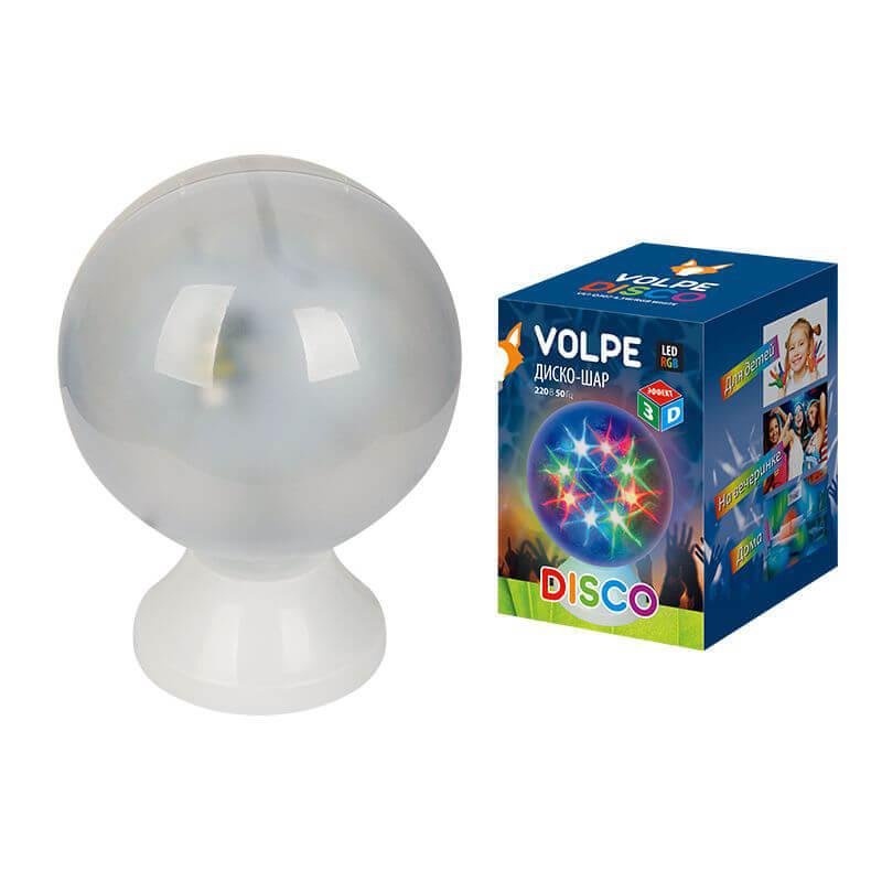 Интерьерные украшения Volpe ULI-Q307 4,5W/RGB WHITE Disco