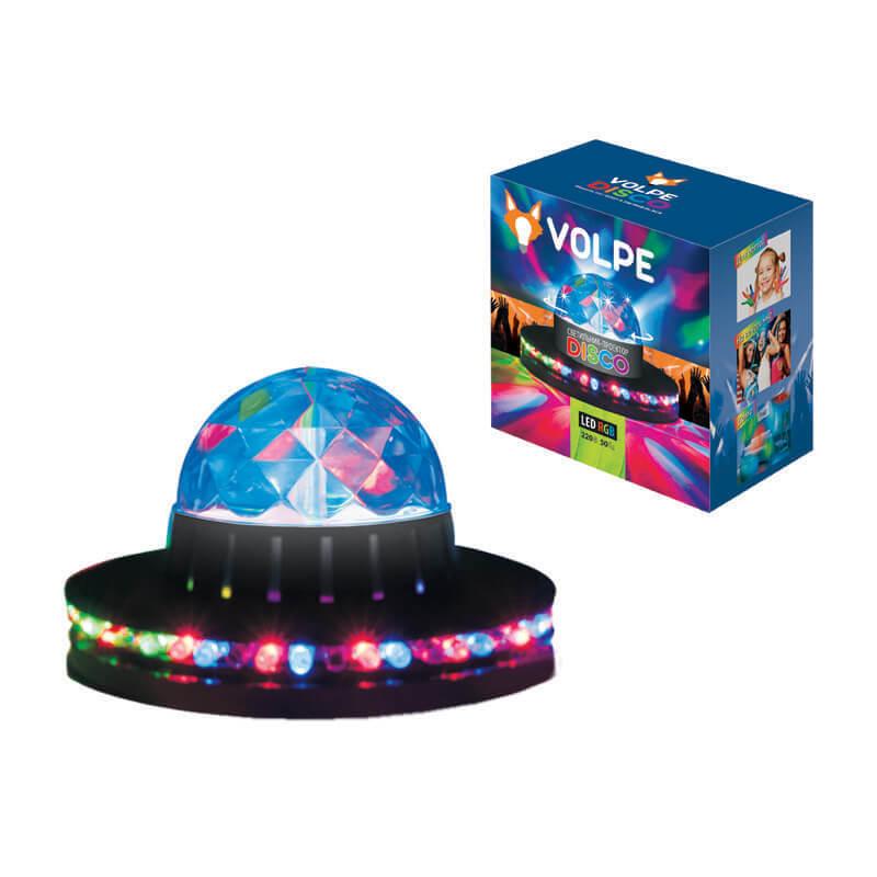 Интерьерные украшения Volpe ULI-Q305 3,5W/RGB BLACK Disco