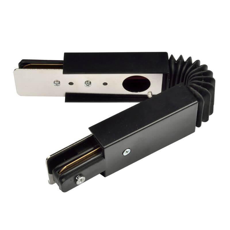 Коннектор Volpe UBX-Q121 K24 Black 1 Polybag UBX-Q121 (для однофазного шинопровода)
