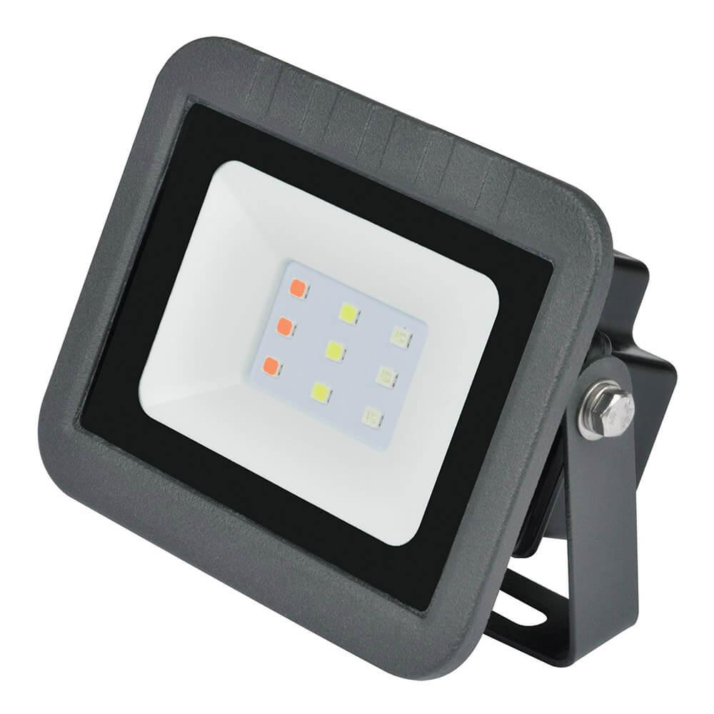 Прожектор светодиодный (UL-00002561) Volpe 10W RGB ULF-Q511 10W/RGB IP65 220-240В Black