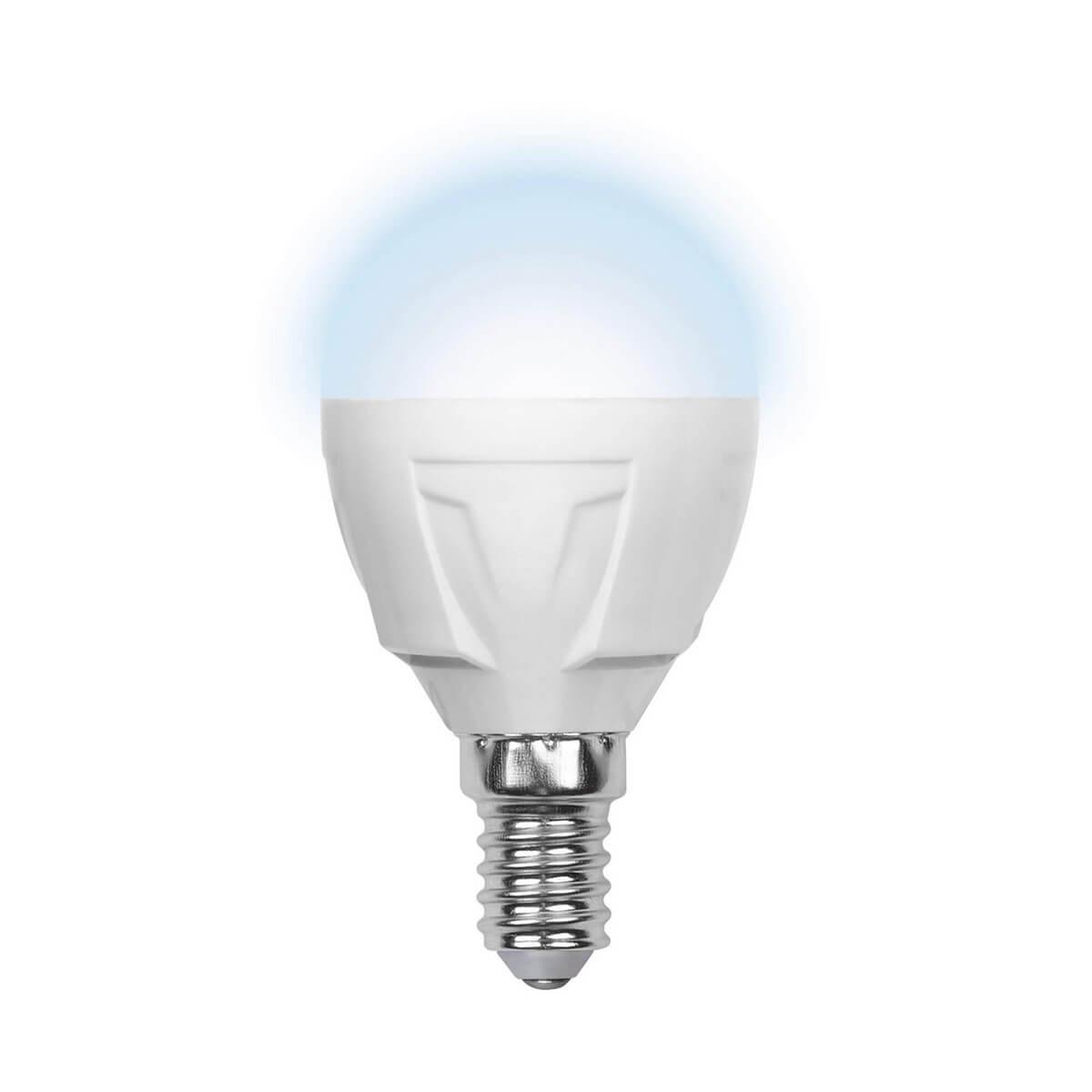 Лампочка Volpe LED-G45-6W/NW/E14/FR/S LED-G45