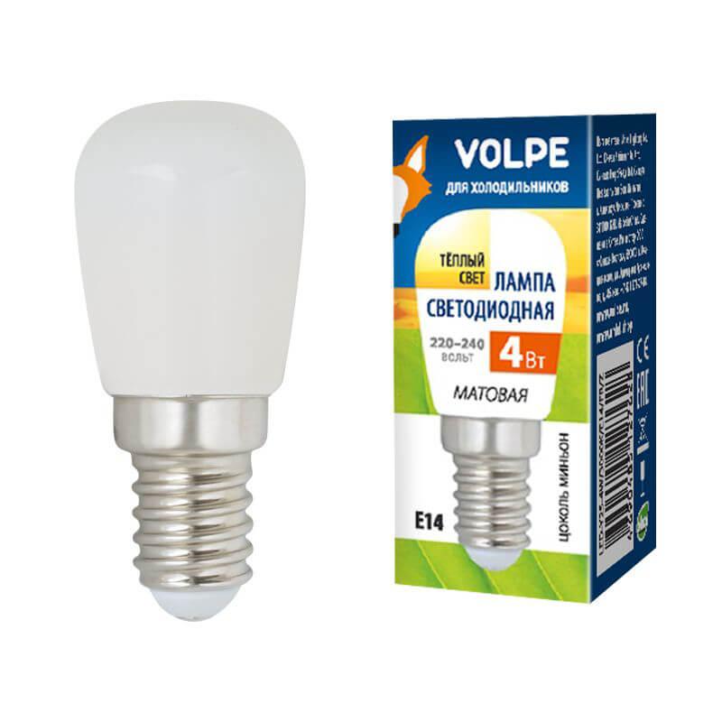 Лампочка Volpe LED-Y25-4W/3000K/E14/FR/Z Optima