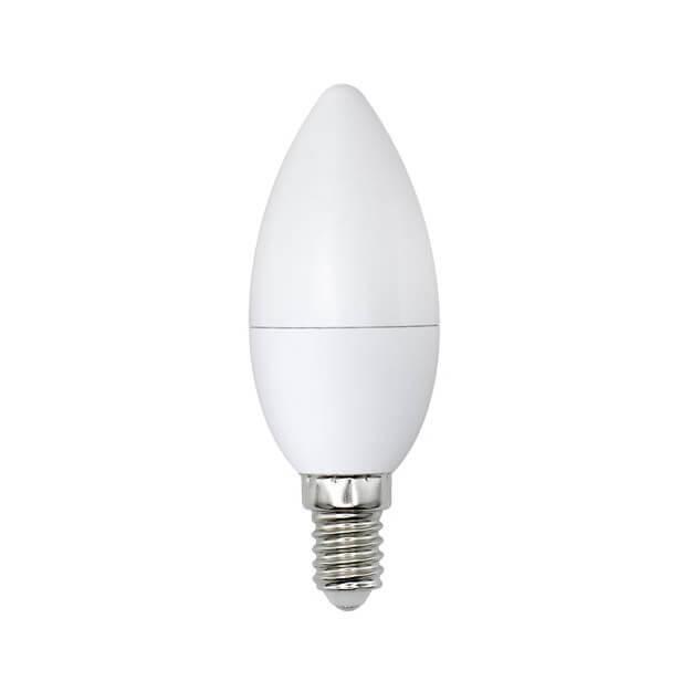 Лампа светодиодная (UL-00001769) E14 8W 3000K матовая LED-C37-8W/WW/E14/FR/O цена и фото