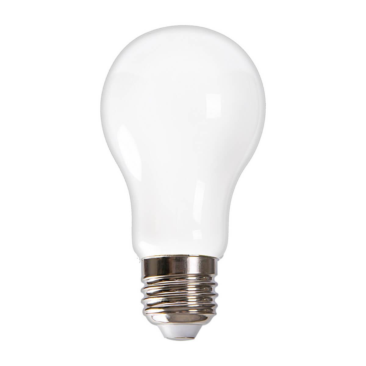 Лампочка Volpe LED-A60-7W/3000K/E27/FR GLH01WH Heaven LED-A60 лампочка uniel air led a60 e27 7w 200 250v 3000k 630lm warm white led a60 7w ww e27 cl dim gla01tr