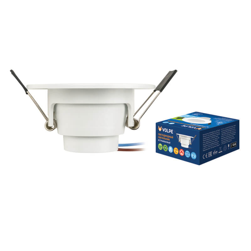 Светильник Volpe ULM-Q261 5W/NW IP44 White