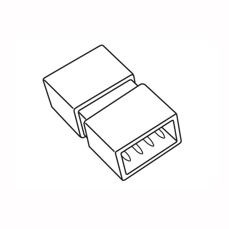 Клемма (10995) Volpe UTC-Q220 K14/B67-RGB Clear 025 Polybag стоимость