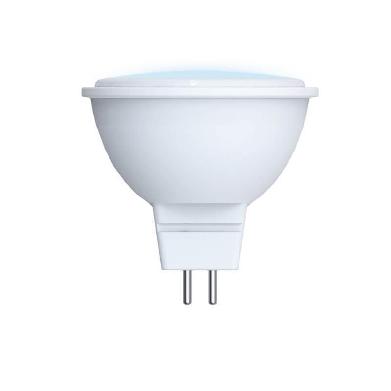 Лампа светодиодная (UL-00003837) GU5.3 7W 4000K матовая LED-JCDR-7W/NW/GU5.3/NR