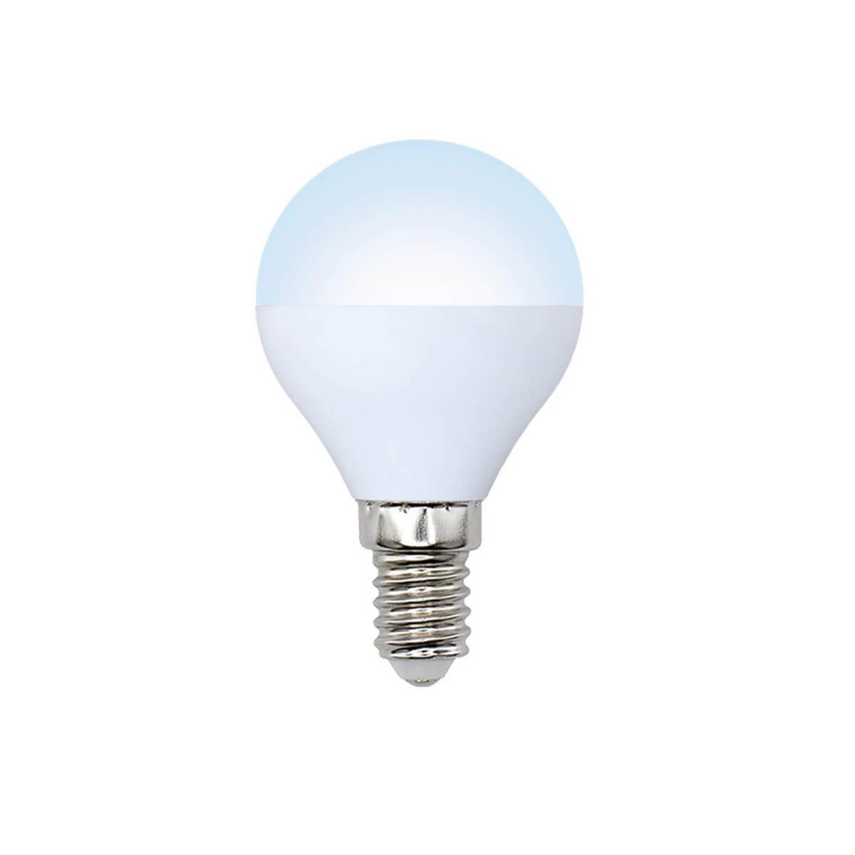 цена на Лампа светодиодная (10215) E14 6W 4500K матовая LED-G45-6W/NW/E14/FR/O