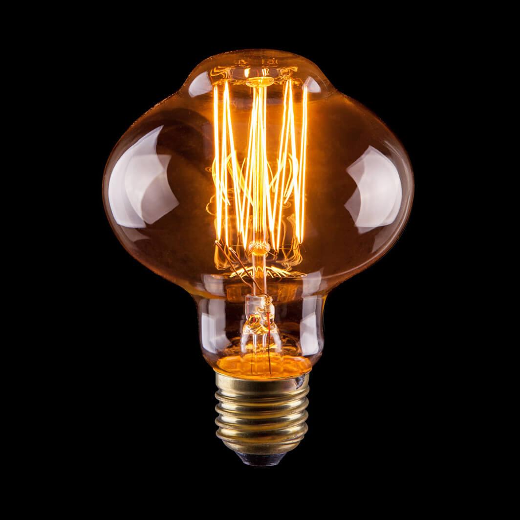 Лампа накаливания E27 60W прозрачная VG6-L85A1-60W 6487 цена и фото