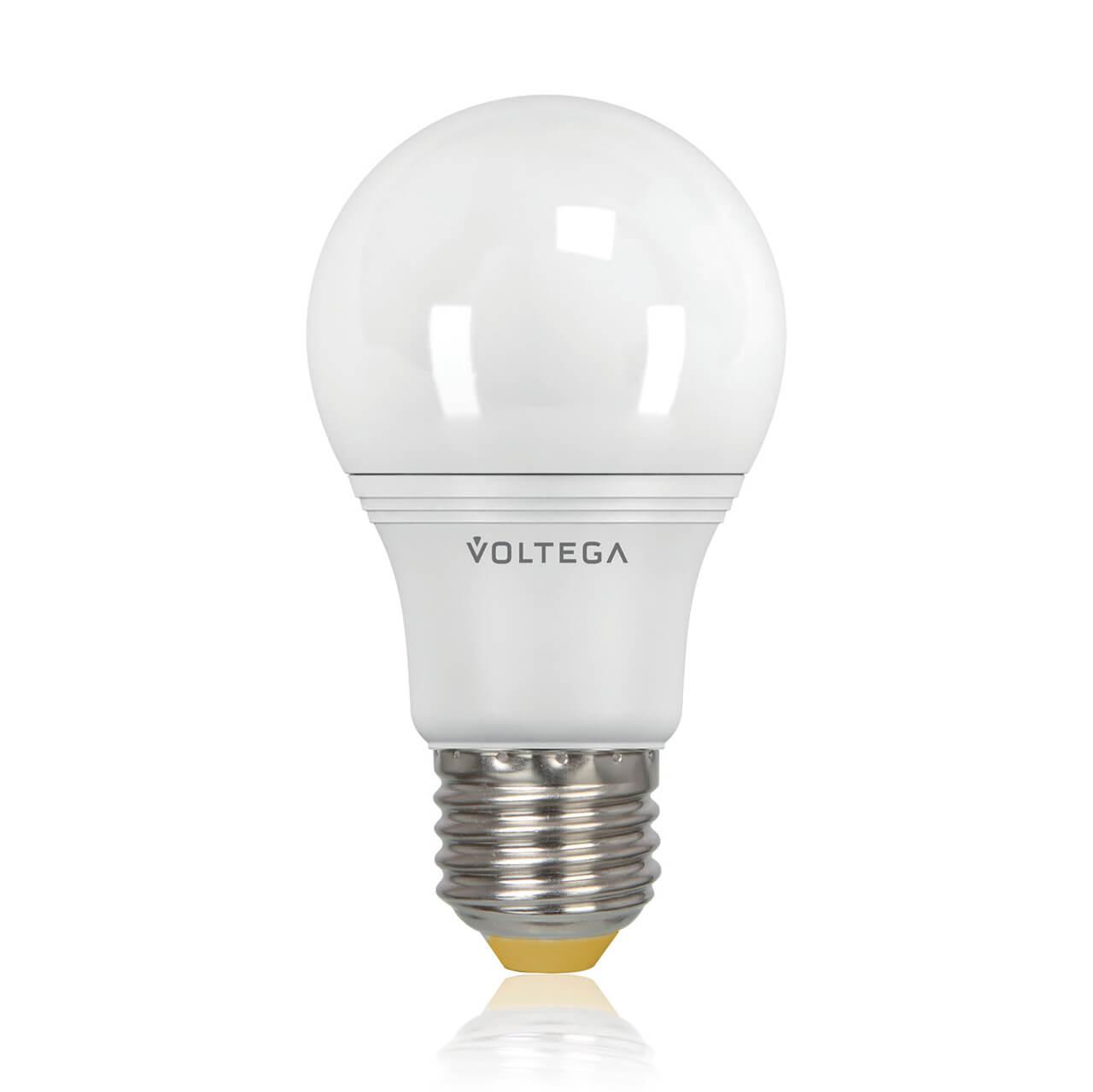 Лампа светодиодная Voltega E27 8W 4000К шар матовый VG2-A2E27cold8W 5736 voltega лампа светодиодная voltega рефлектор матовый e14 5 4w 4000к vg4 rm2e14cold5w 5756