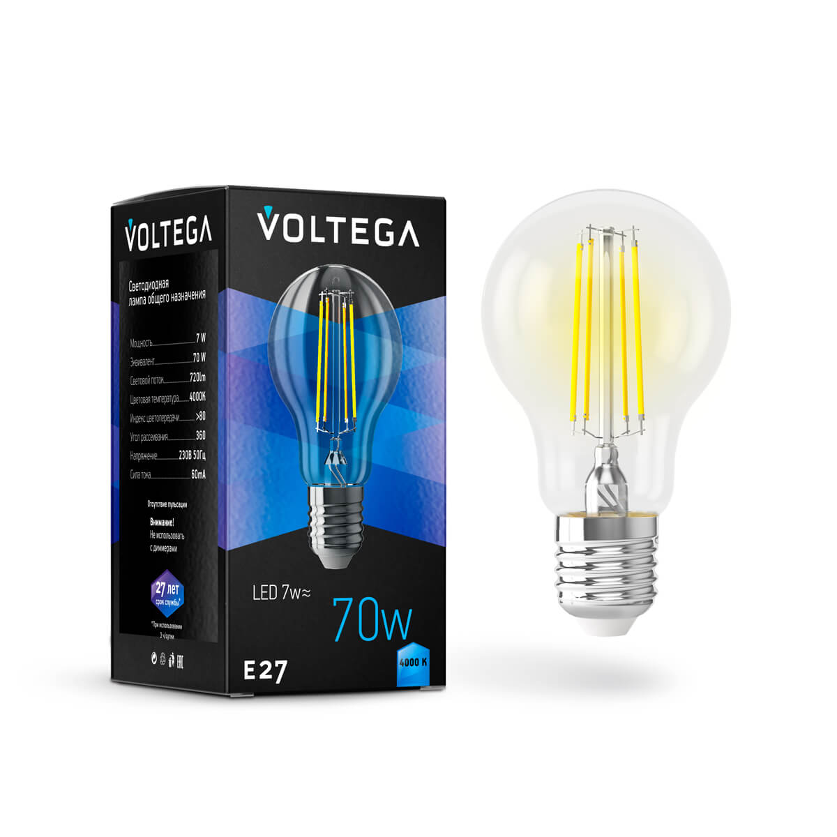 Лампочка Voltega 7141 General purpose bulb