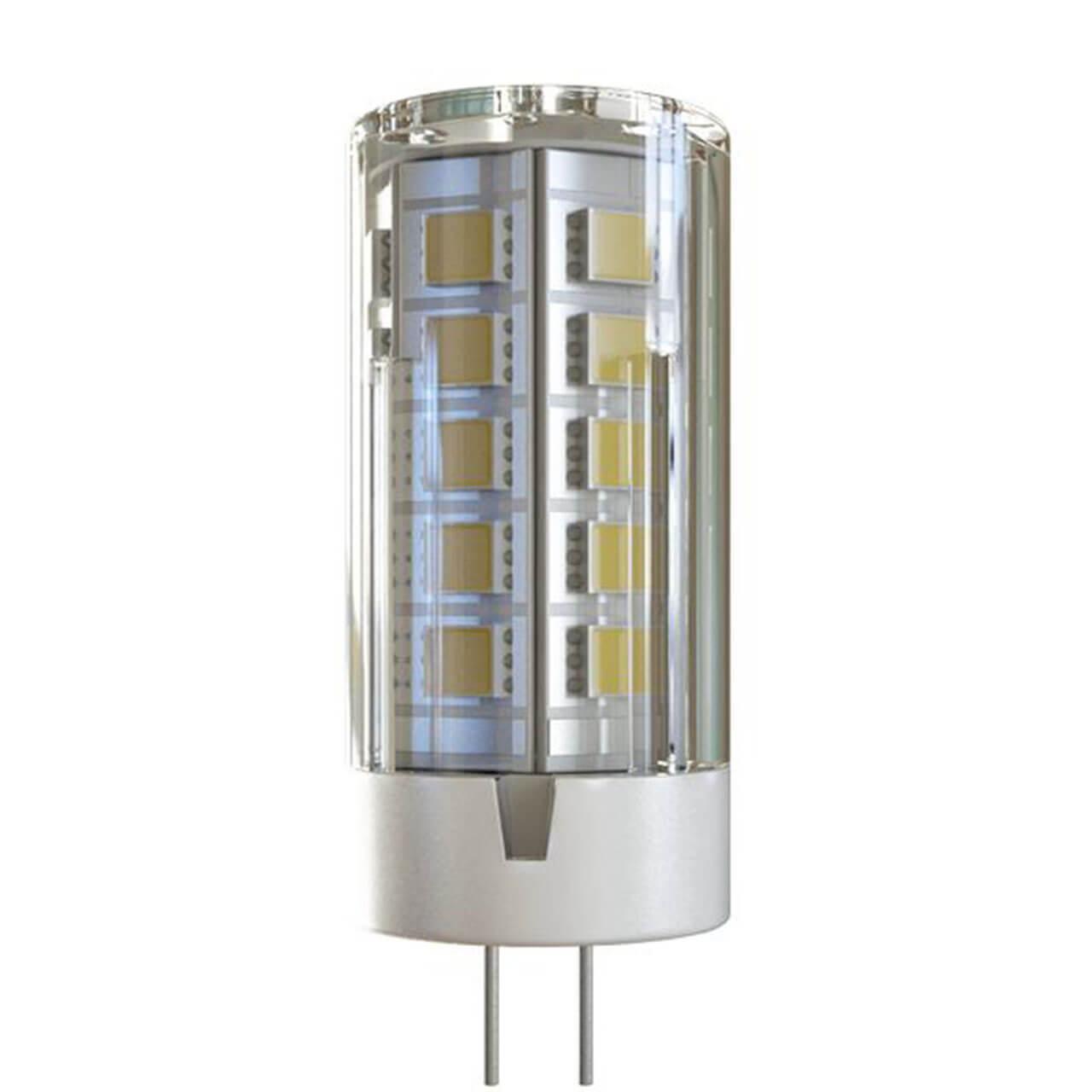Лампа светодиодная Voltega G4 4W 4000К прозрачная VG9-K1G4cold4W-12 7031 voltega лампа светодиодная voltega рефлектор матовый e14 5 4w 4000к vg4 rm2e14cold5w 5756