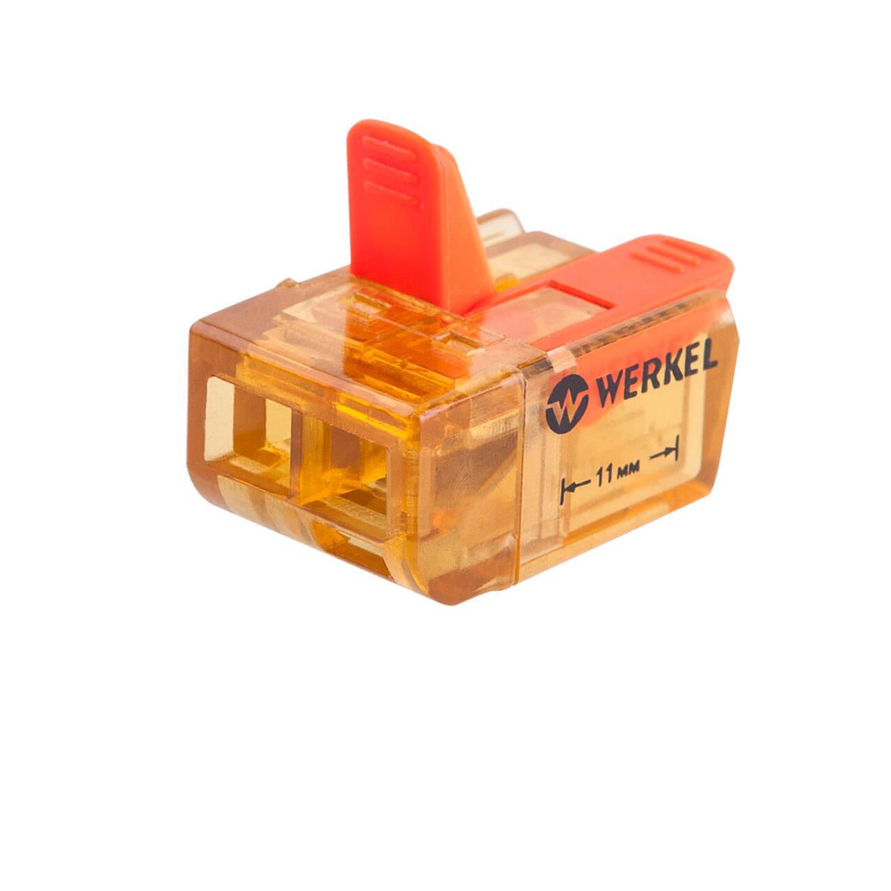 Клемма соединительная Werkel 3-проводная 5 шт TR-02-02 14690389107358 клемма соединительная werkel 3 проводная 5 шт tr 02 02 14690389107358