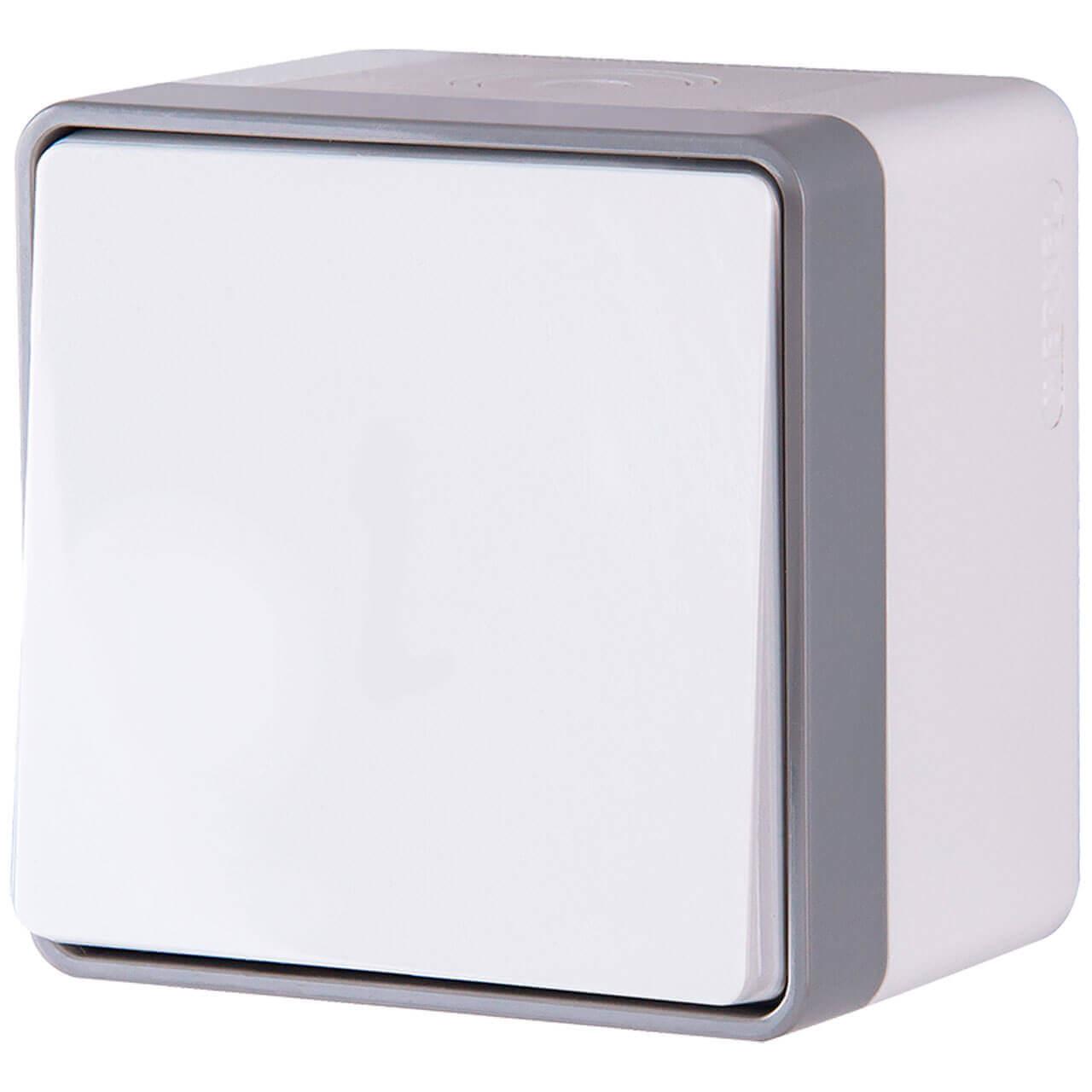 Выключатель Werkel 4690389102158 Gallant Белый