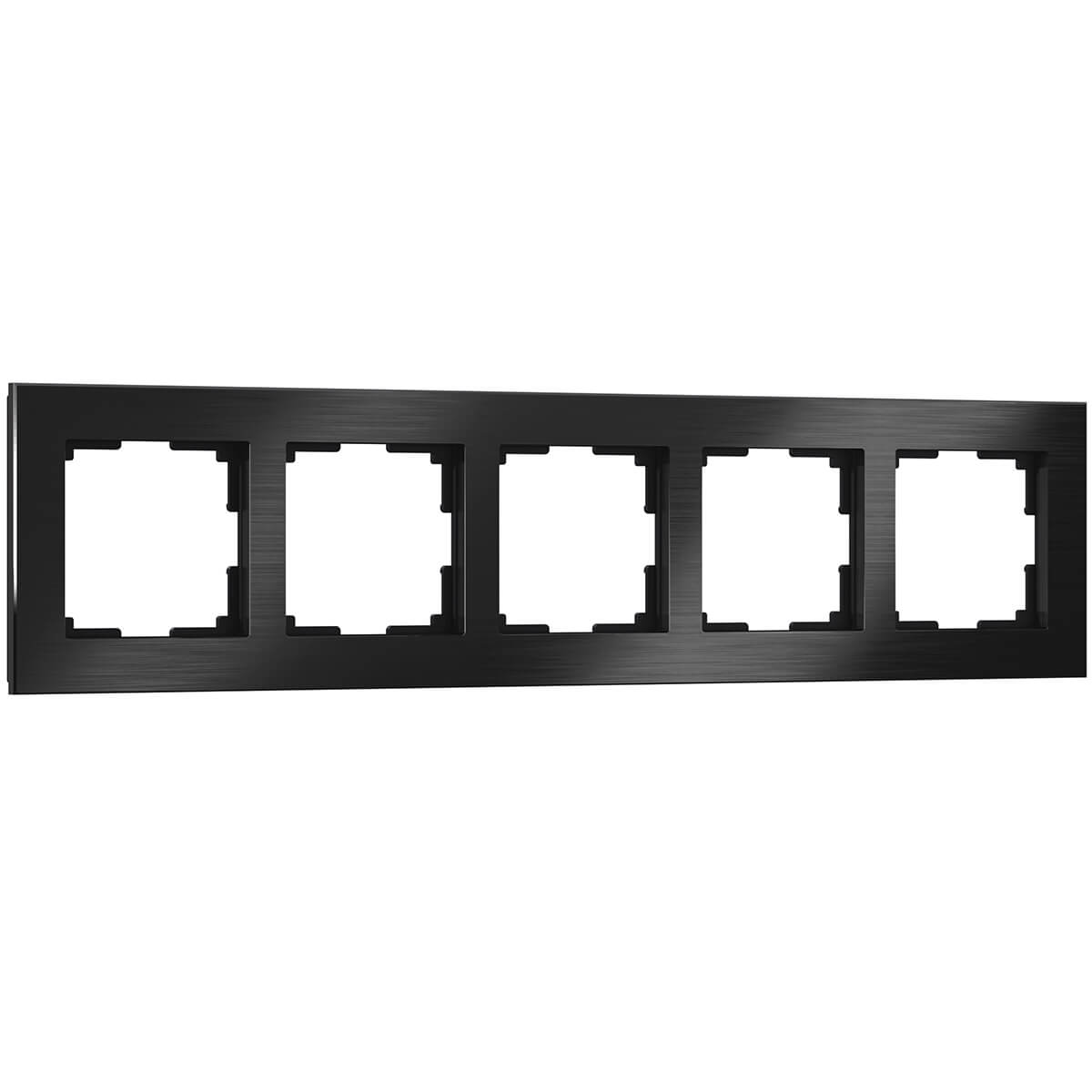 Рамка Werkel 4690389110481 Aluminium Black