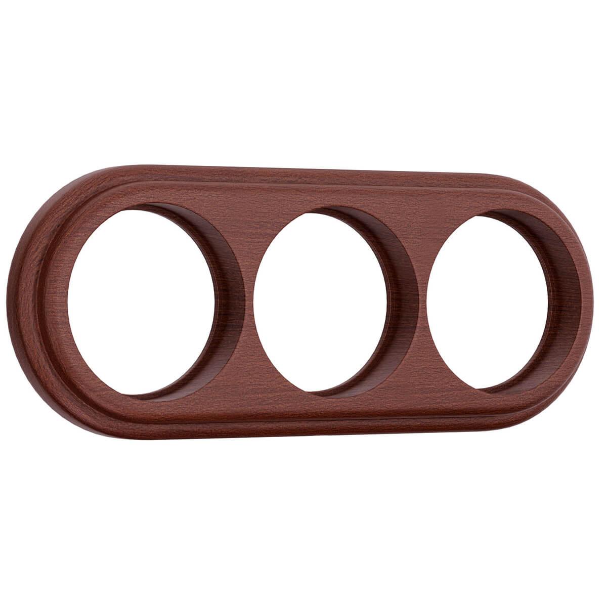 цены Рамка Legend на 3 поста итальянский орех WL15-frame-03 4690389100970