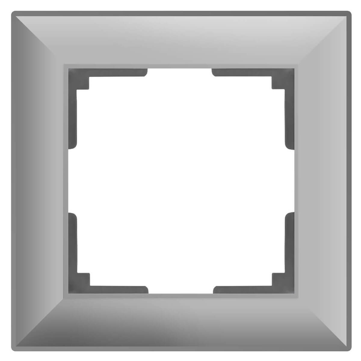 цена Рамка Fiore на 1 пост серебряный WL14-Frame-01 4690389109041 онлайн в 2017 году