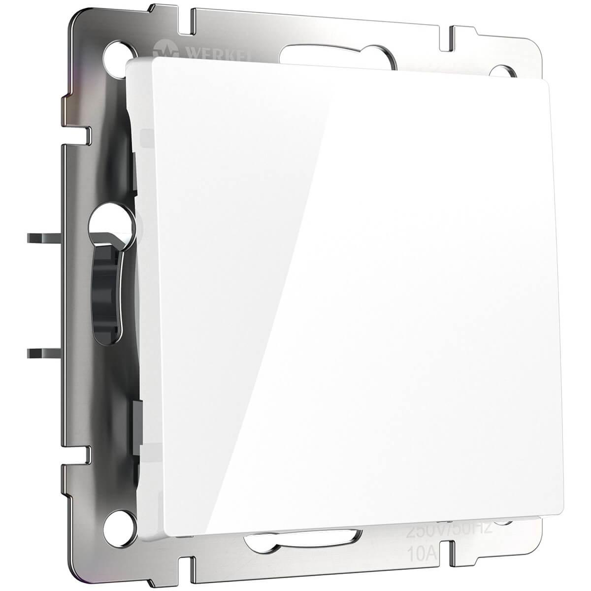 Выключатель Werkel 4690389045530 Белый фото