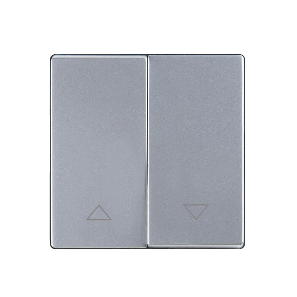 цена на Выключатель для жалюзи Werkel WL06-01-02 серебряный 4690389128486