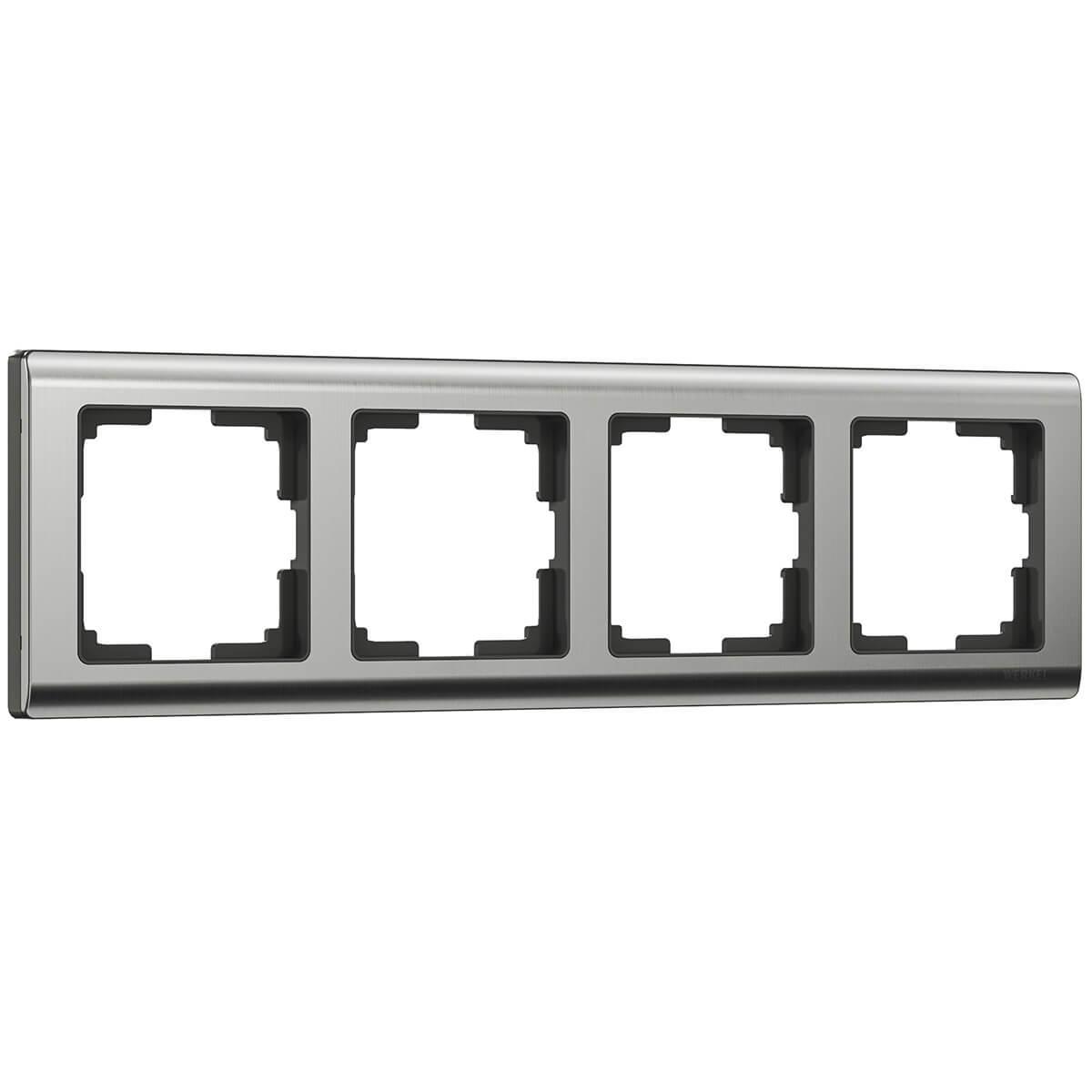Рамка Werkel 4690389045936 Metallic
