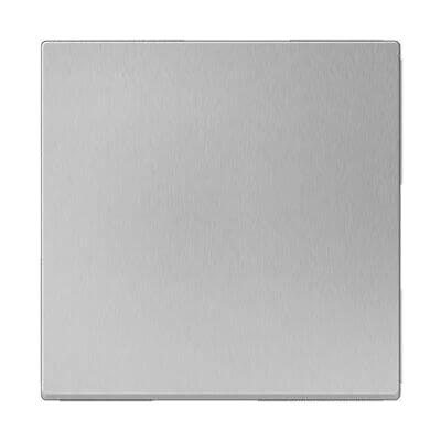 Выключатель одноклавишный проходной серебряный WL06-SW-1G-2W 4690389053825 перекрестный переключатель одноклавишный серебряный wl06 sw 1g c 4690389073595