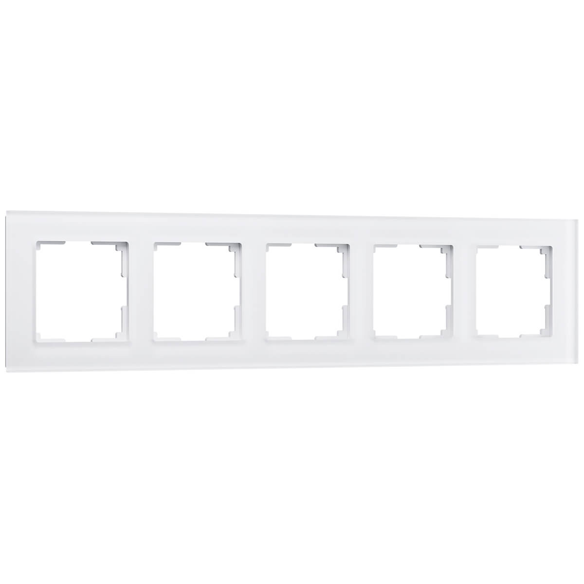 Рамка Favorit на 5 постов белый матовый WL01-Frame-05 4690389098673 цены онлайн