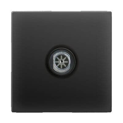 ТВ-розетка оконечная черный матовый WL08-TV 4690389054273 стоимость