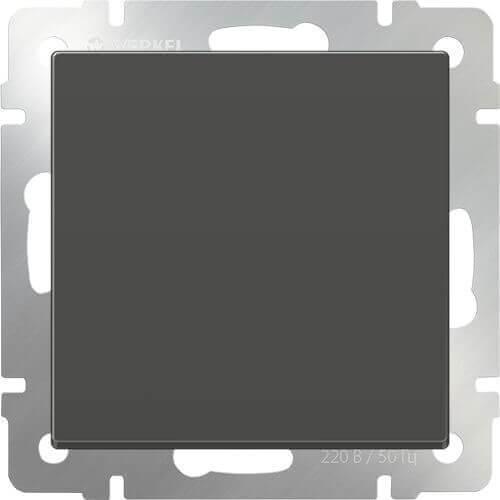 Перекрестный переключатель одноклавишный серо-коричневый WL07-SW-1G-C 4690389073601 werkel выключатель одноклавишный серо коричневый werkel wl07 sw 1g 4690389053979